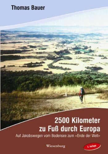 Cover - 2500 Kilometer zu Fuß durch Europa